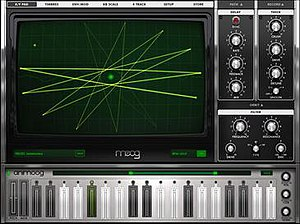 Animoog - Image: Animoog screenshot