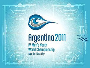 2011 Men's Youth World Handball Championship - Image: Argentina 2011Men s World Youth Championships