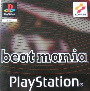 Beatmania (European video game) - Cover art