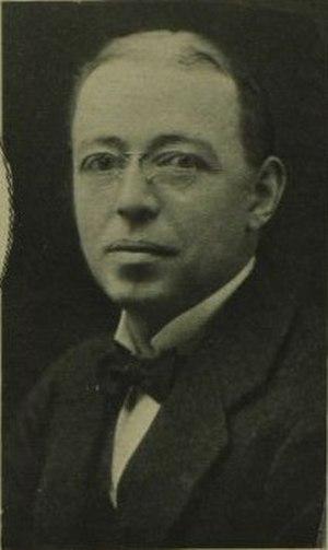 Ben Spoor - Spoor in 1924