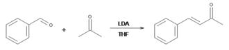 Benzylideneacetone - Image: Benzalacetone Preparation Using LDA