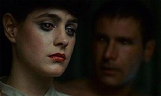 Themes in Blade Runner - Image: Blade Runner Deckard Eye Glow