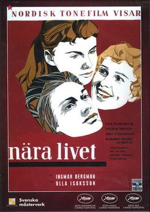 Brink of Life - Swedish poster