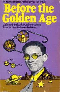 <i>Before the Golden Age</i> book by Isaac Asimov