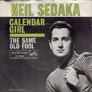 Calendar Girl (song) - Image: Calendar girl neil sedaka