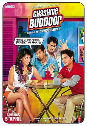Chashme Baddoor (2013 film) - Image: Chashme Baddoor (2013 film) Poster