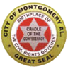Official seal of Montgomery, Alabama