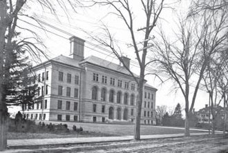 University of Massachusetts Lowell - Coburn Hall in 1899