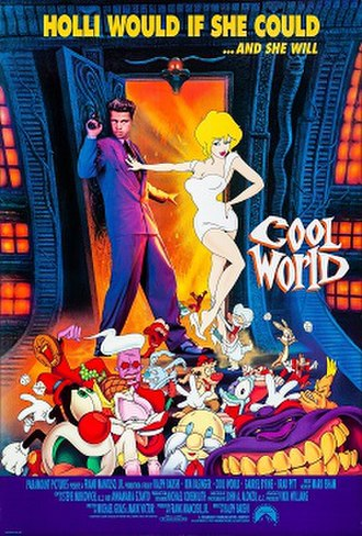 Cool World - Theatrical release poster