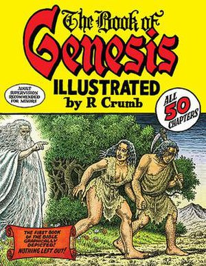 The Book of Genesis (comics) - Cover to the first edition of The Book of Genesis Illustrated by Robert Crumb from W. W. Norton & Company