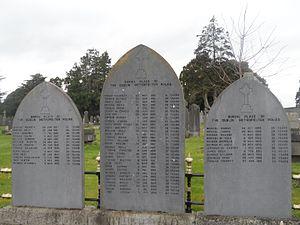 Dublin Metropolitan Police - Burial site of many members of the DMP, Glasnevin Cemetery.