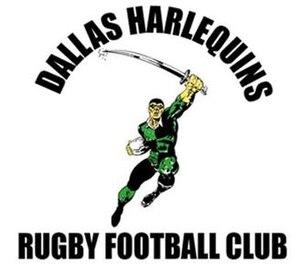 Dallas Harlequins R.F.C. - Image: Dallas Harlequin logo