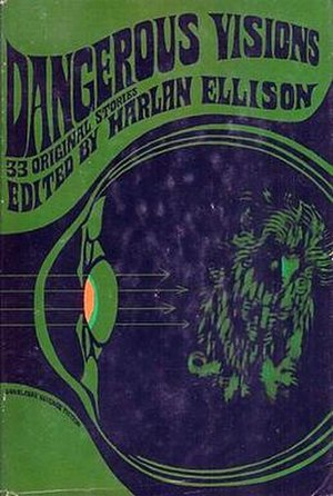 Dangerous Visions - Cover of first edition (hardcover)