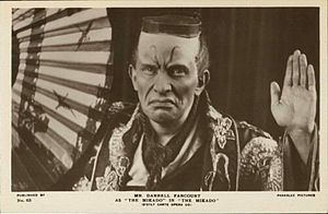 Darrell Fancourt - Fancourt as The Mikado of Japan