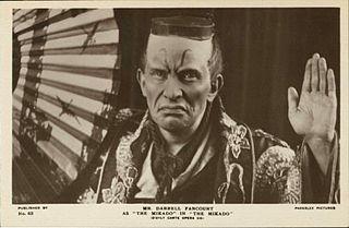 Darrell Fancourt British opera singer and actor