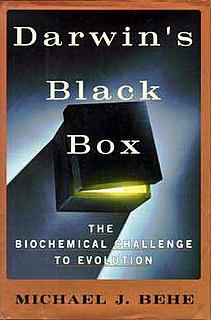<i>Darwins Black Box</i> book by Michael Behe