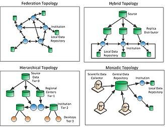 Data grid - Possible Data Grid Topologies