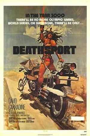 Deathsport - Theatrical release poster