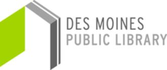 Des Moines Public Library - Image: Des Moines Public Library logo