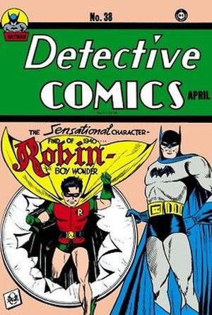 Jerry Robinson - Image: Detective Comics 38