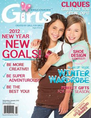 Discovery Girls - Discovery Girls December/January 2012 issue