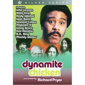 Dynamite Chicken - The cover for the film
