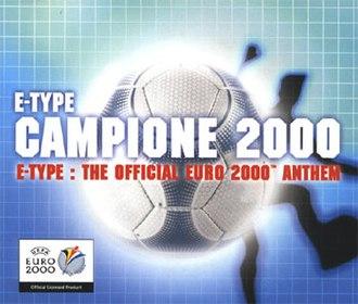 Campione 2000 - Image: E Type Campione single