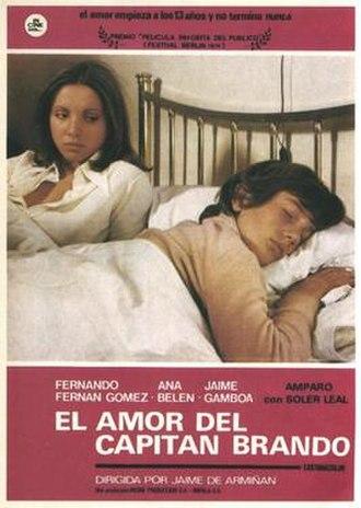 The Love of Captain Brando - Theatrical release poster