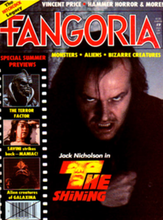 Fangoria - Fangoria, Issue 7; this was the first issue to exclusively feature horror content.