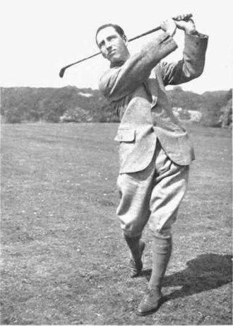 Ernest Jones (golfer) - Image: Fig i Ernest Jones before the War