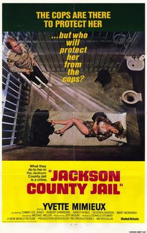 Jackson County Jail (film) - Theatrical release poster