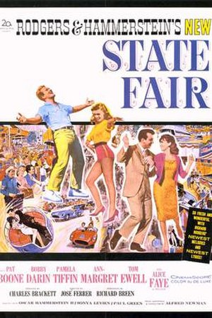 State Fair (1962 film) - Theatrical release poster