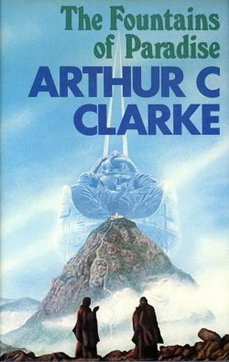 The Fountains of Paradise - Cover of first UK edition (hardcover)