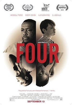 Four (2012 film) - Theatrical Poster