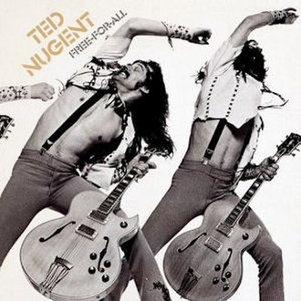Free-for-All (Ted Nugent album) - Image: Free for all
