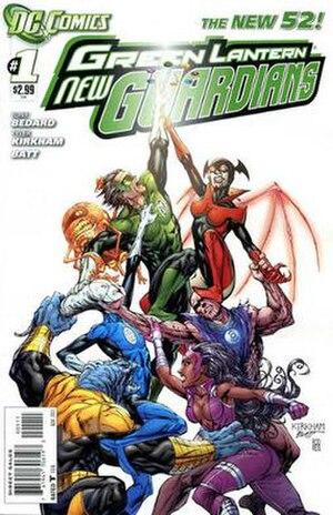 Green Lantern: New Guardians - Image: GL New Guardians 01