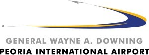 General Wayne A. Downing Peoria International Airport - Image: General Wayne A. Downing Peoria International Airport Logo