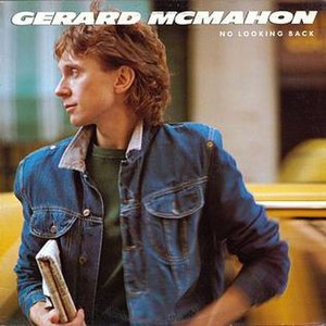 No Looking Back (Gerard McMahon album) - Image: Gerard Mc Mahon No Looking Back (front)