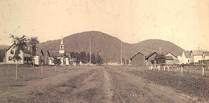 Gilead, Maine - A view of Gilead in 1892