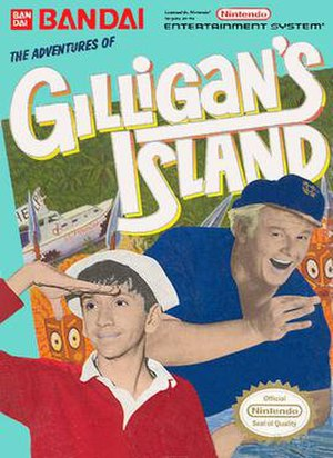 The Adventures of Gilligan's Island - Cover art
