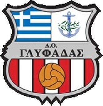 Glyfada F.C. - Image: Glyfadafcnewlogo