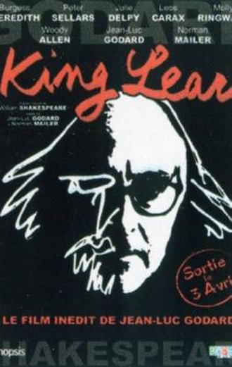 King Lear (1987 film) - French theatrical poster for King Lear