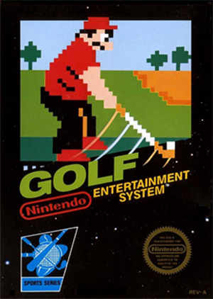 Golf (1984 video game) - Image: Golf Coverart