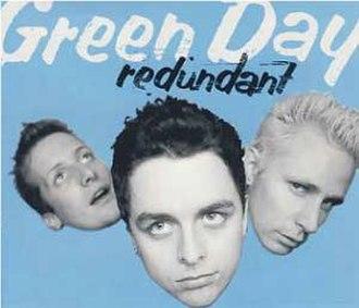 Redundant (song) - Image: Green Day Redundant cover