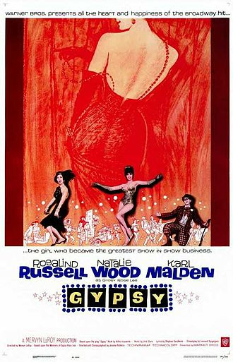 Gypsy (1962 film) - Theatrical release poster