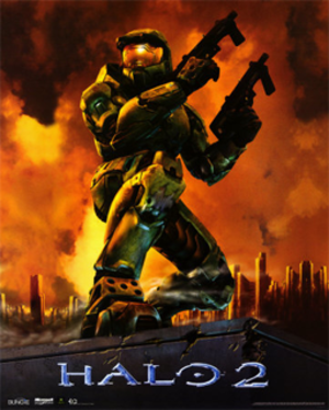 Halo 2 - Image: Halo 2 cover