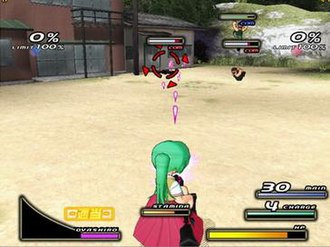 Higurashi Daybreak - In-game screenshot.