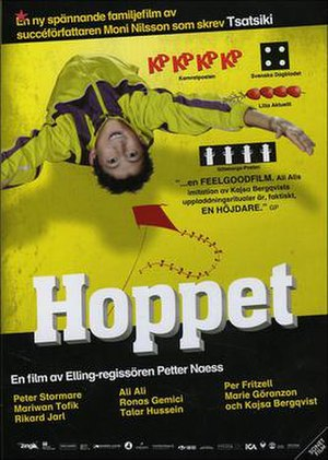 Hoppet (film) - Swedish cover.