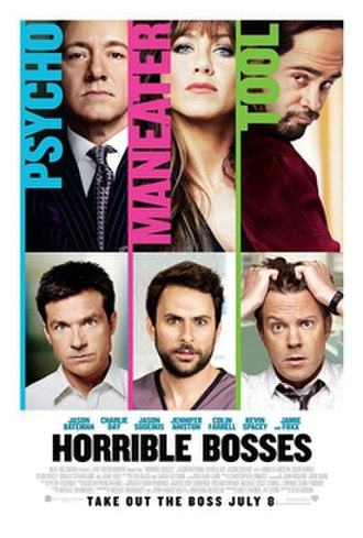 Horrible Bosses - Theatrical release poster