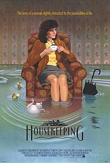 <i>Housekeeping</i> (film) 1987 film by Bill Forsyth